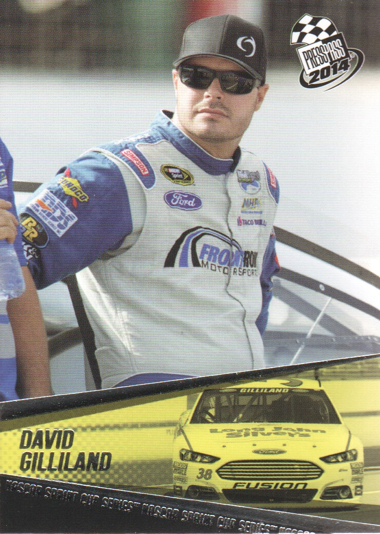 2014 Press Pass #11 David Gilliland