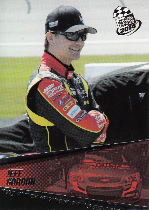 2014 Press Pass #12 Jeff Gordon