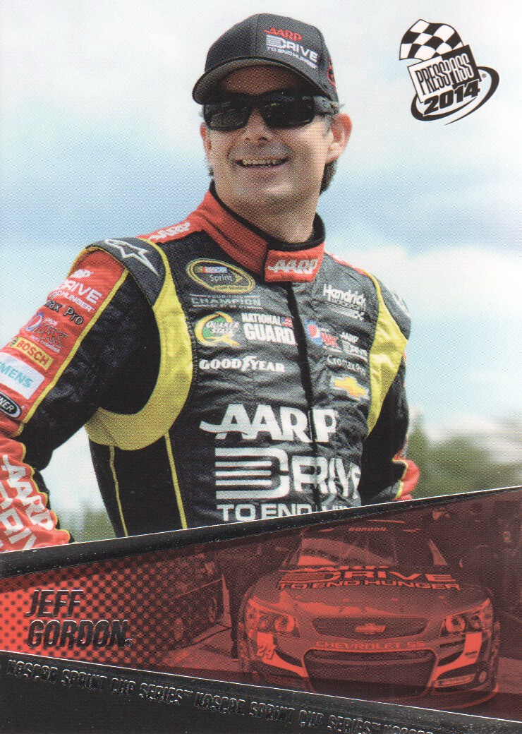 2014 Press Pass #13 Jeff Gordon