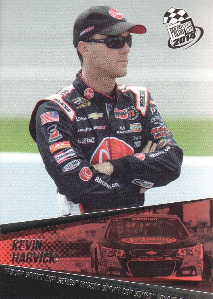 2014 Press Pass #15 Kevin Harvick