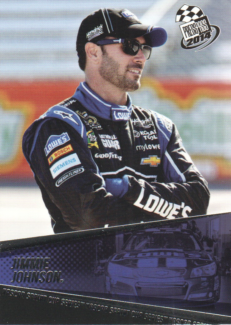 2014 Press Pass #16 Jimmie Johnson