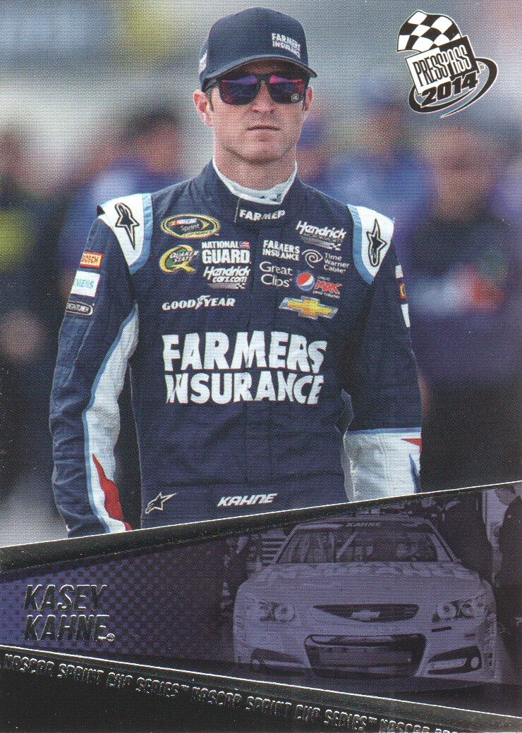 2014 Press Pass #18 Kasey Kahne