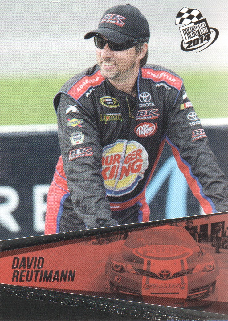2014 Press Pass #33 David Reutimann
