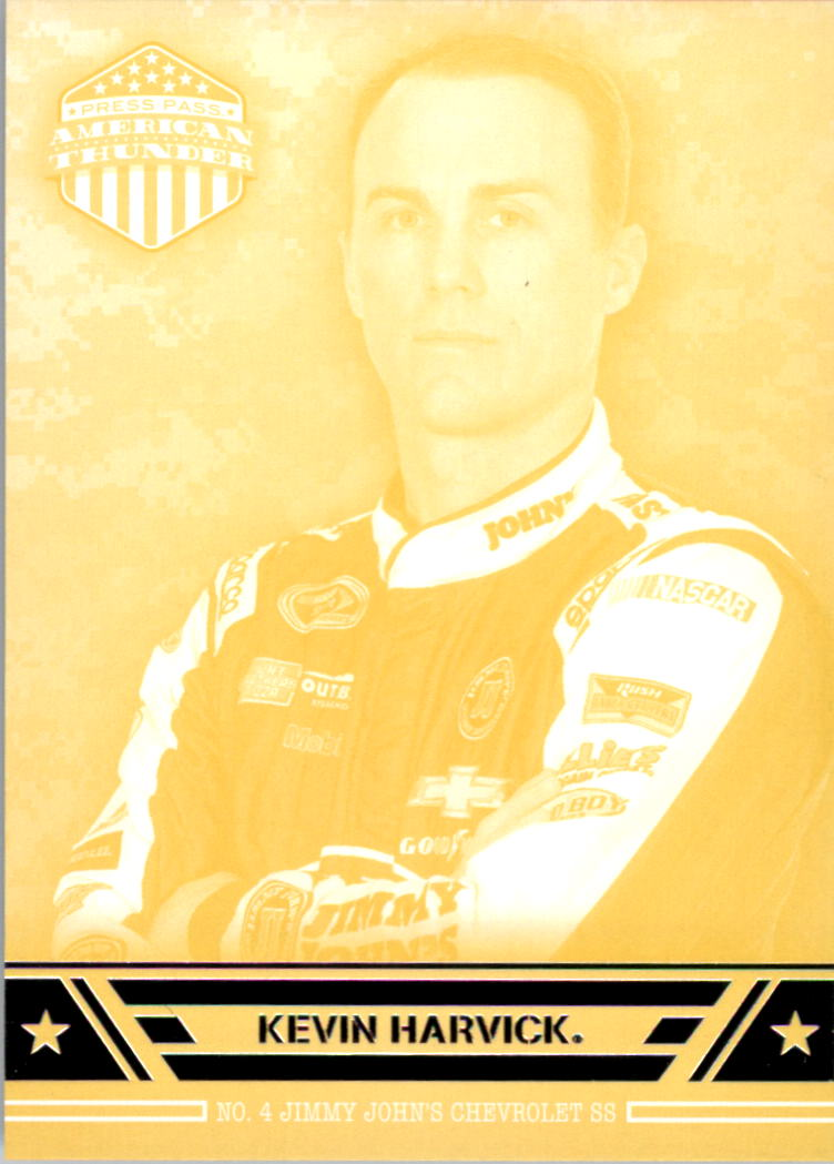 2014 Press Pass American Thunder Yellow #17 Kevin Harvick