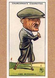 1931 Churchman's Prominent Golfers Small #29 Abe Mitchell