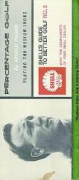 1959 Shell Oil Arnold Palmer Booklets UK #5 Arnold Palmer