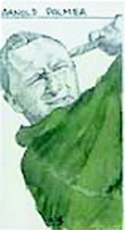 1987 Brindley & Associates Artist's Impression Series UK #13 Arnold Palmer