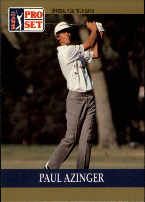 1990 Pro Set #21 Paul Azinger RC
