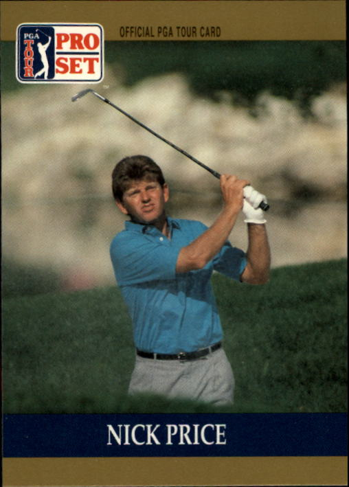 1990 Pro Set #23 Nick Price RC