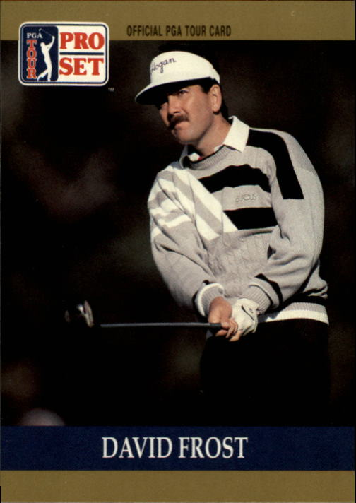 1990 Pro Set #58 David Frost RC
