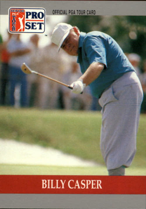 1990 Pro Set #81 Billy Casper RC
