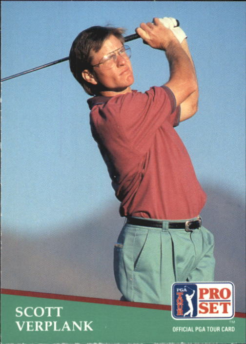 1991 Pro Set #39 Scott Verplank