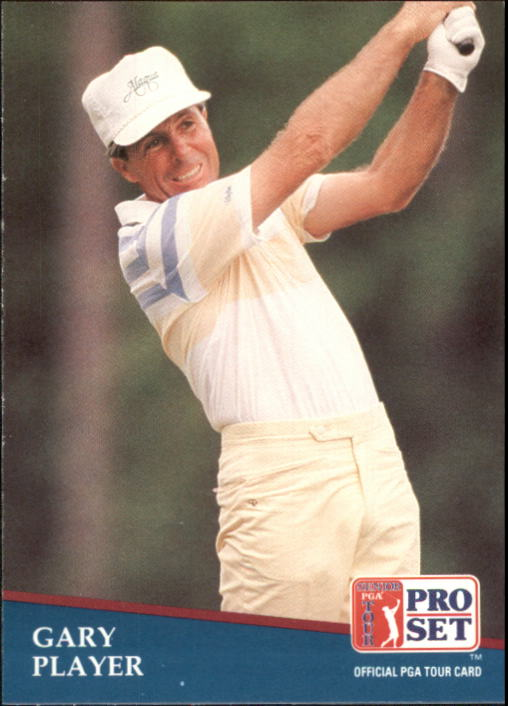 1991 Pro Set #194 Gary Player