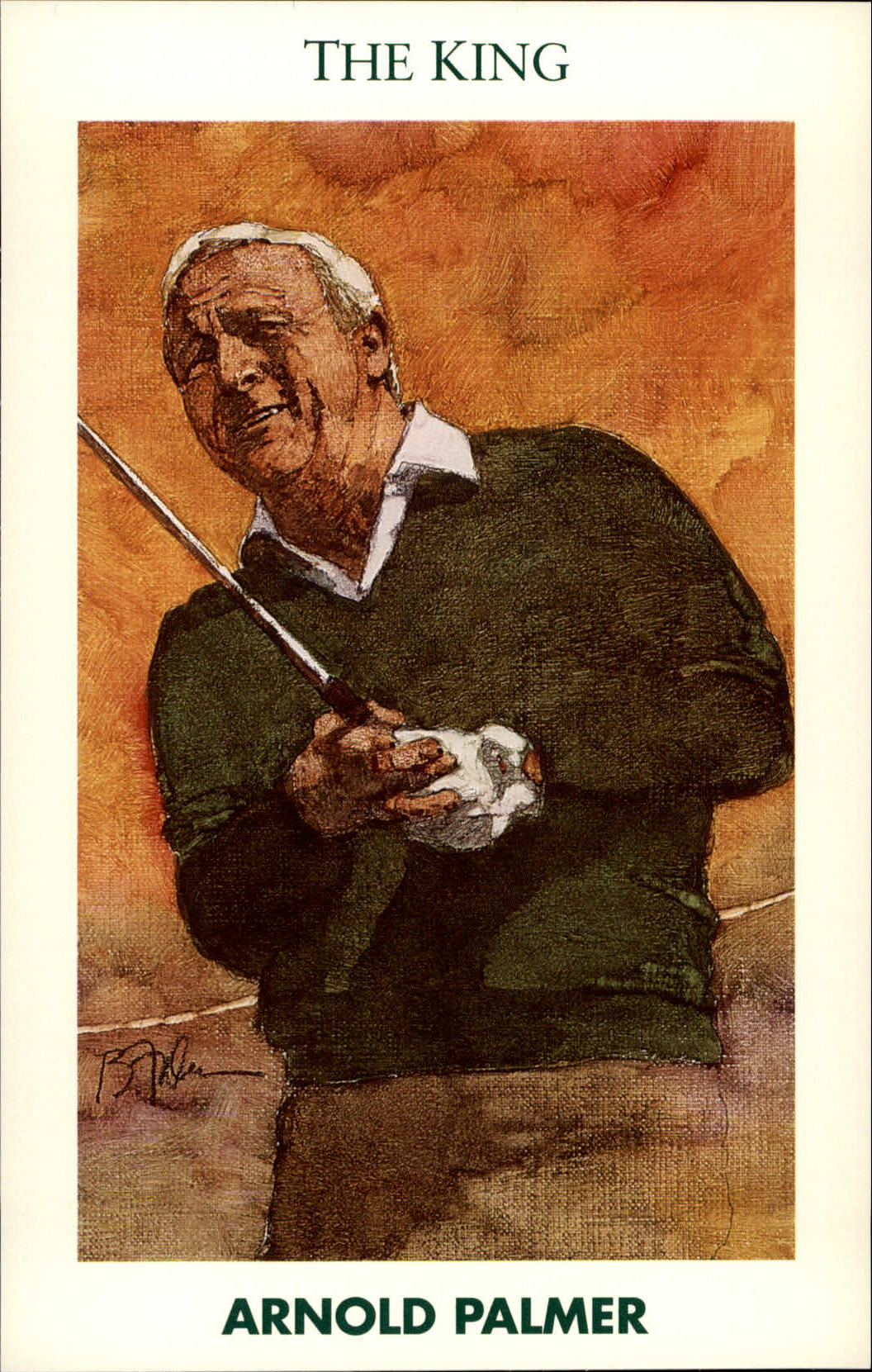 1992 Mueller Enterprises Inc Golf's Greatest #16 Arnold Palmer