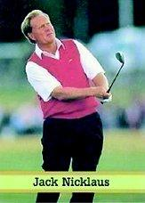 1993 Fax-Pax Famous Golfers #11 Jack Nicklaus