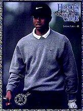 1997 Heroes of the Game Platinum #NNO Tiger Woods