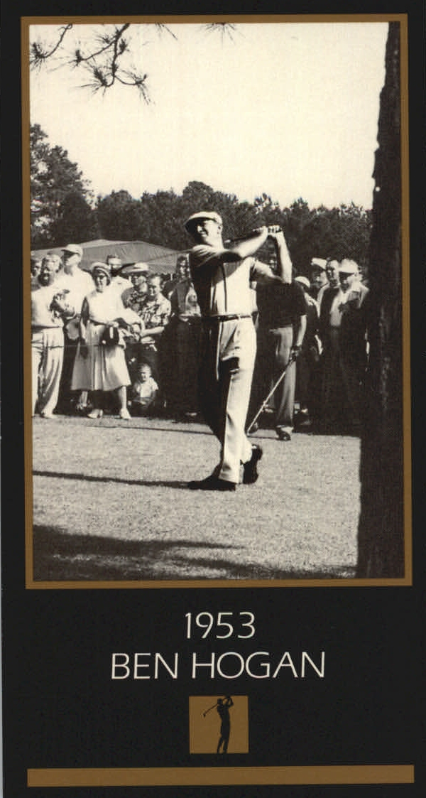 1997-98 Grand Slam Ventures Masters Collection #1953 Ben Hogan 53