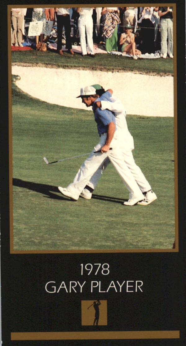 1997-98 Grand Slam Ventures Masters Collection #1978 Gary Player 78