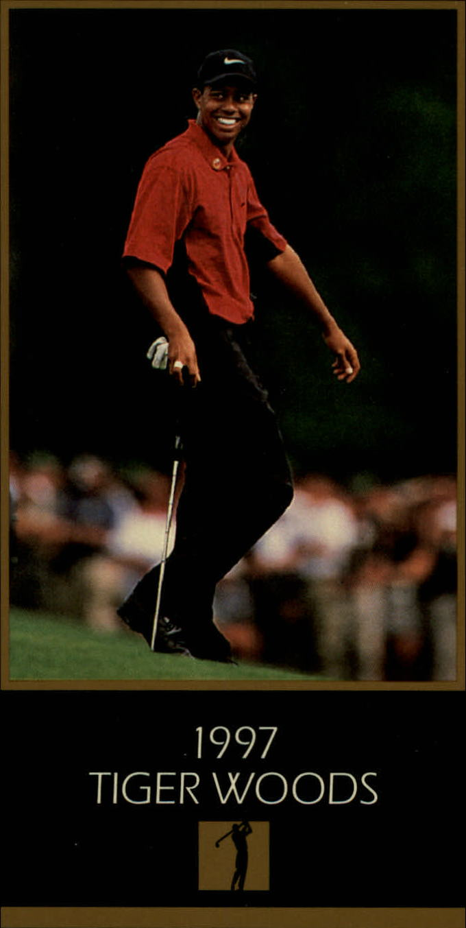 1997-98 Grand Slam Ventures Masters Collection #1997 Tiger Woods XRC