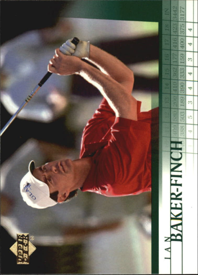 2001 Upper Deck #4 Ian Baker-Finch