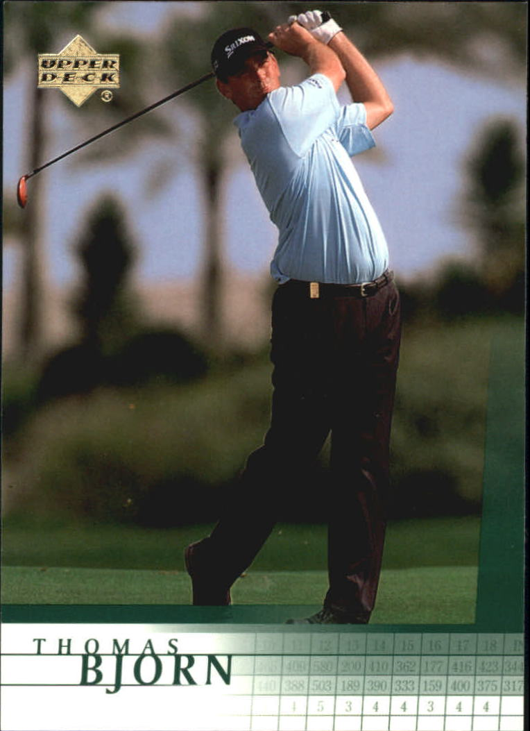 2001 Upper Deck #8 Thomas Bjorn RC