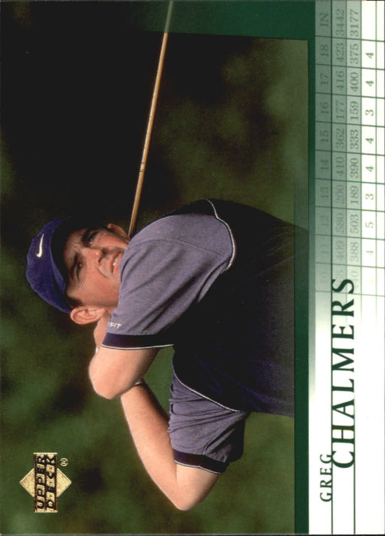 2001 Upper Deck #13 Greg Chalmers RC