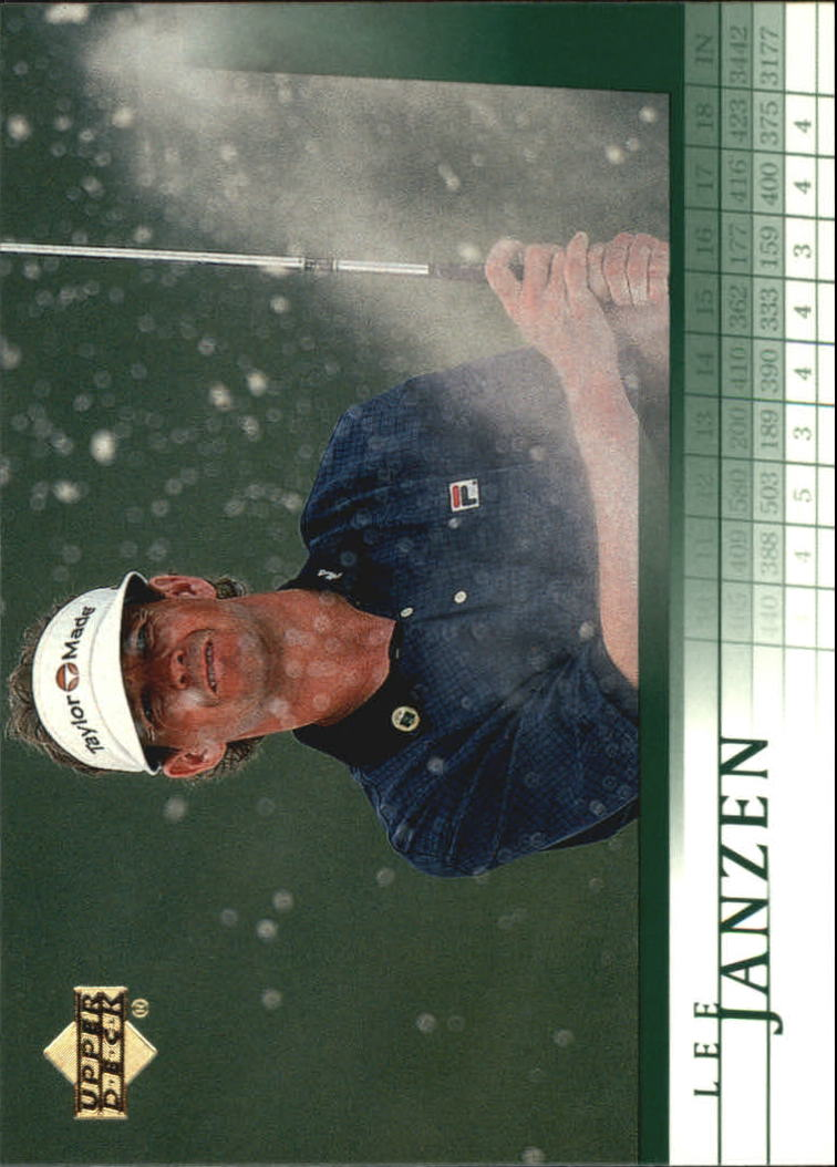 2001 Upper Deck #14 Lee Janzen