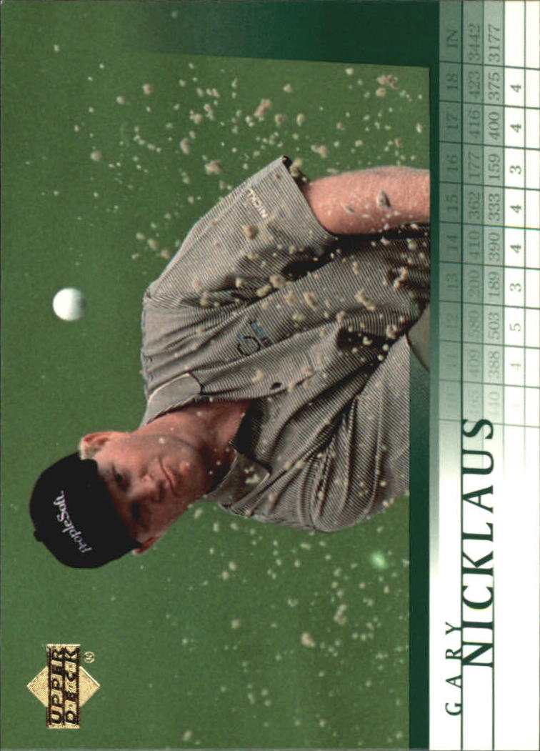 2001 Upper Deck #21 Gary Nicklaus RC