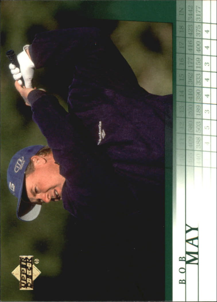 2001 Upper Deck #30 Bob May RC