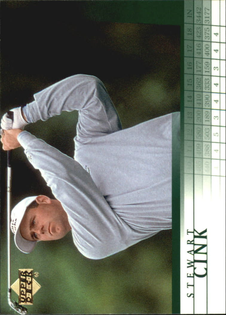 2001 Upper Deck #31 Stewart Cink RC