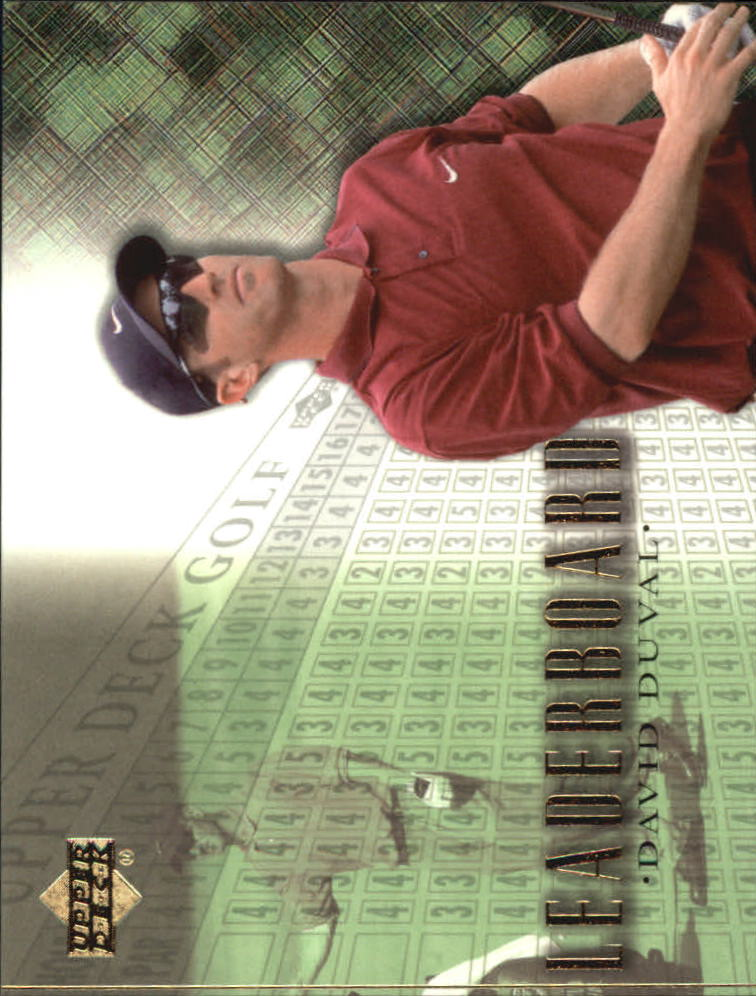 2001 Upper Deck #97 David Duval LB
