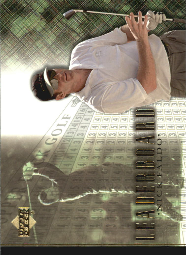 2001 Upper Deck #104 Nick Faldo LB
