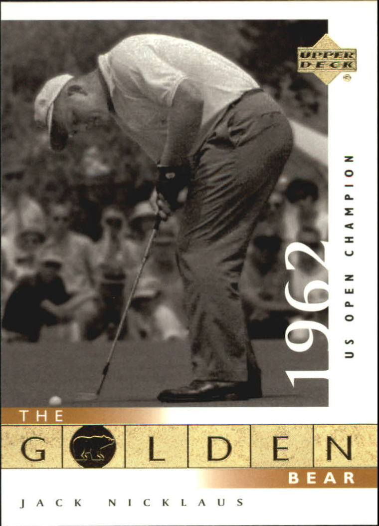 2001 Upper Deck #106 J.Nicklaus GB 62 US Open