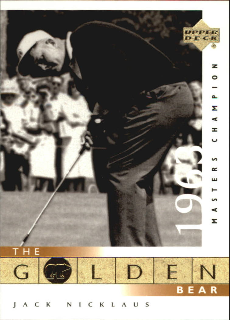 2001 Upper Deck #107 J.Nicklaus GB 63 Masters