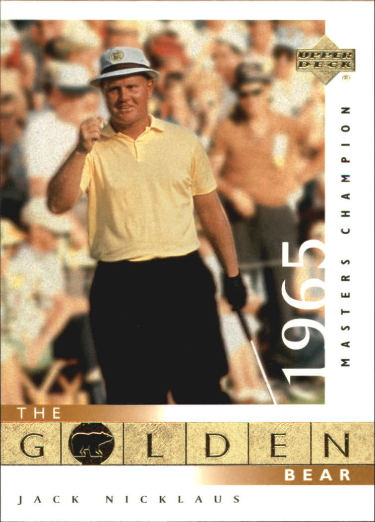 2001 Upper Deck #109 J.Nicklaus GB 65 Masters