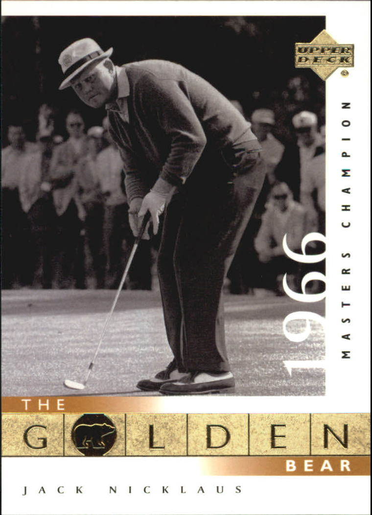 2001 Upper Deck #110 J.Nicklaus GB 66 Masters