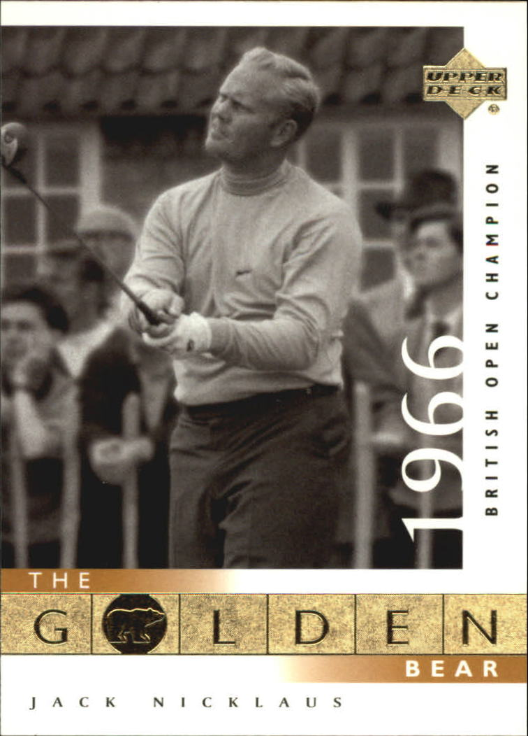2001 Upper Deck #111 J.Nicklaus GB 66 British