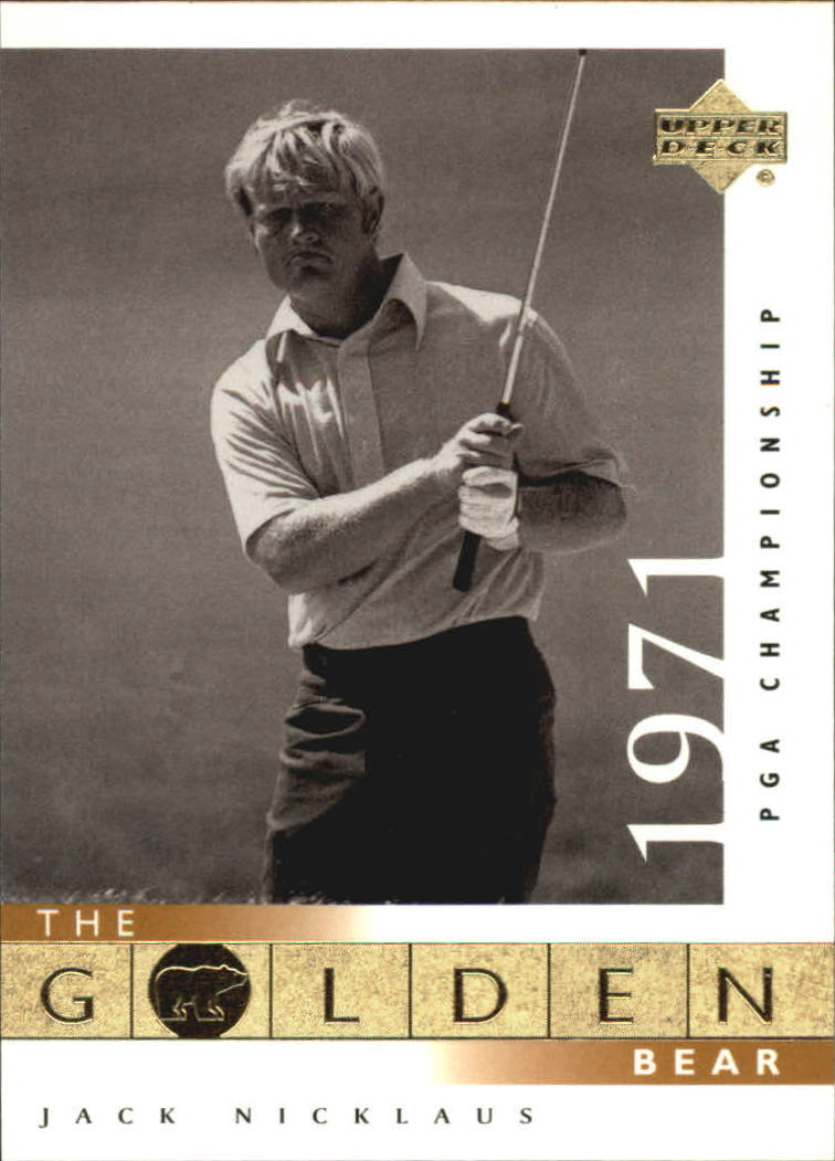 2001 Upper Deck #114 J.Nicklaus GB 71 PGA