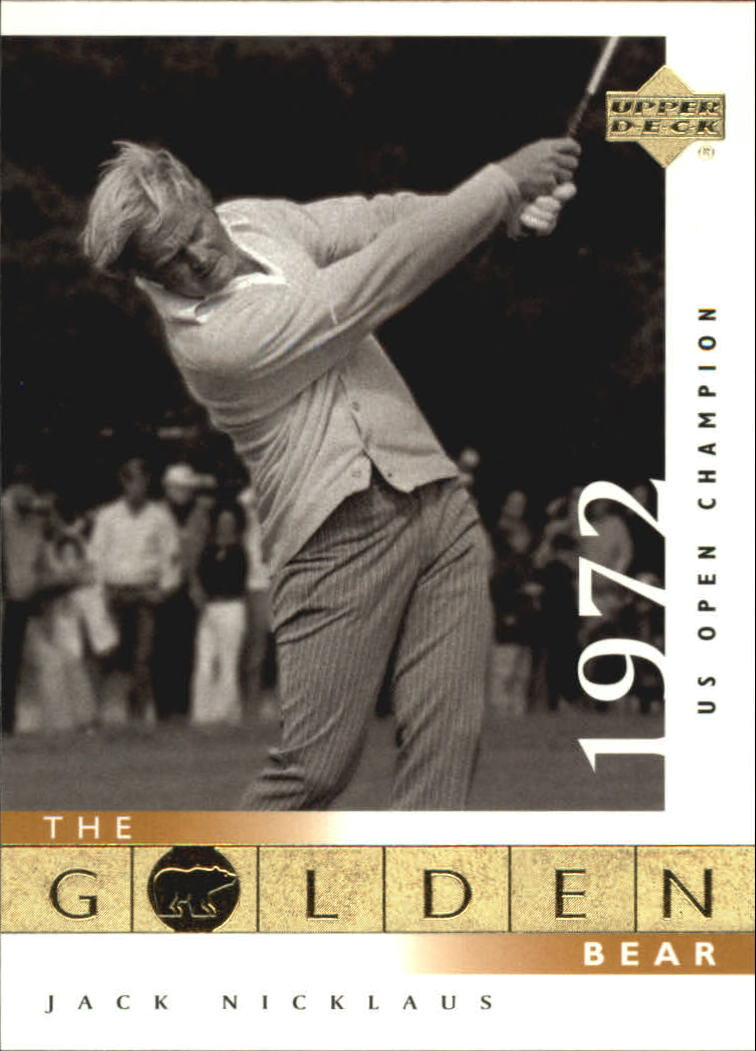 2001 Upper Deck #116 J.Nicklaus GB 72 US Open
