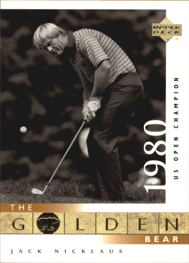 2001 Upper Deck #121 J.Nicklaus GB 80 US Open