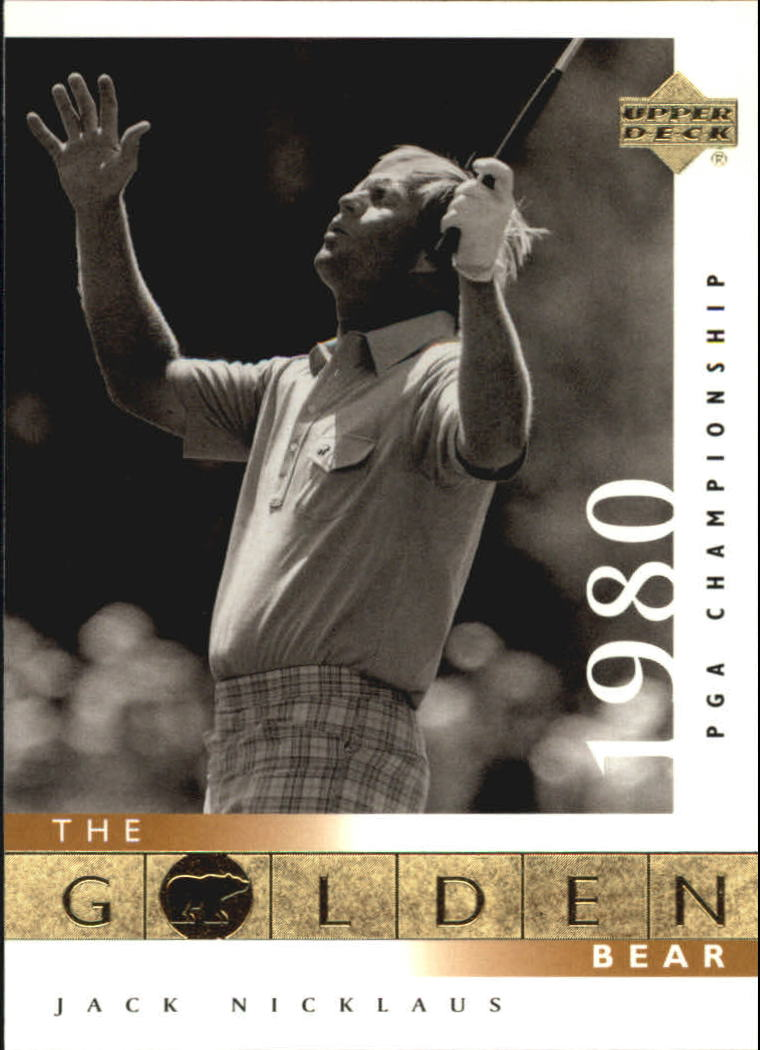 2001 Upper Deck #122 J.Nicklaus GB 80 PGA