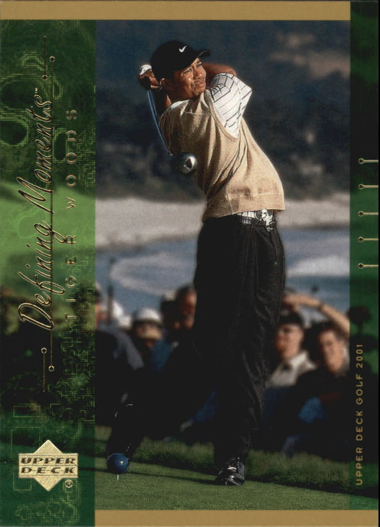 2001 Upper Deck #124 Tiger Woods DM