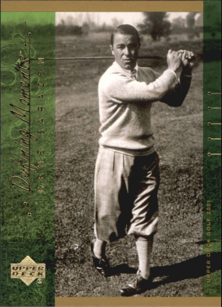 2001 Upper Deck #125 Gene Sarazen DM