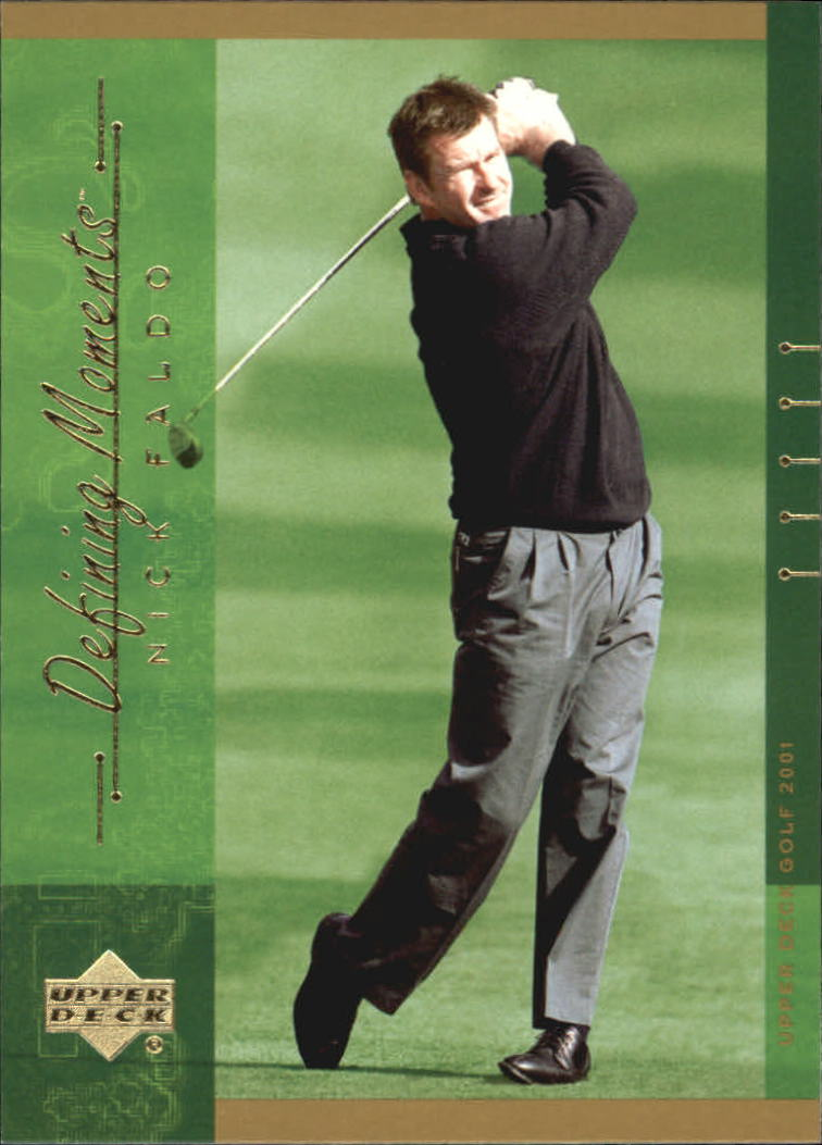 2001 Upper Deck #128 Nick Faldo DM