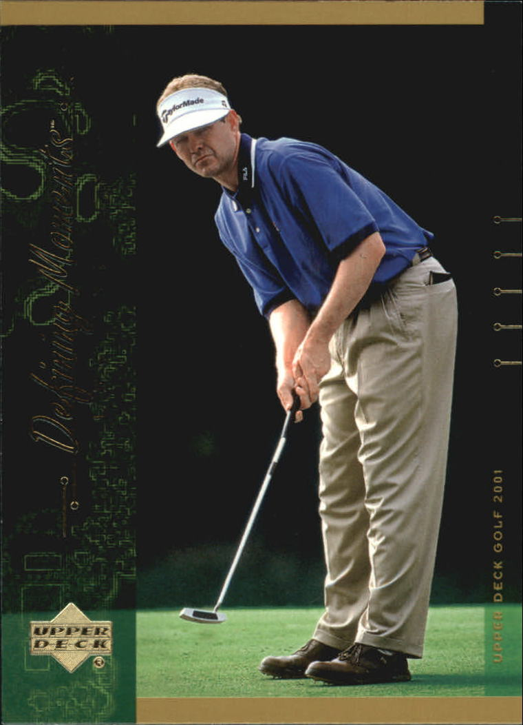 2001 Upper Deck #130 Lee Janzen DM