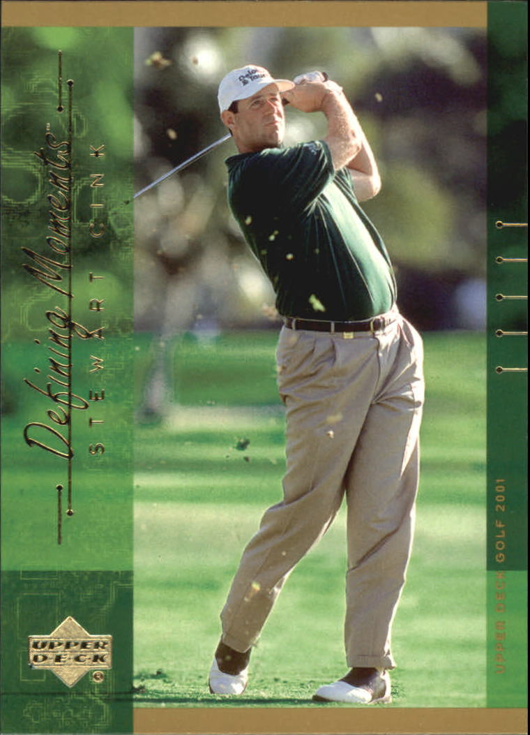 2001 Upper Deck #133 Stewart Cink DM