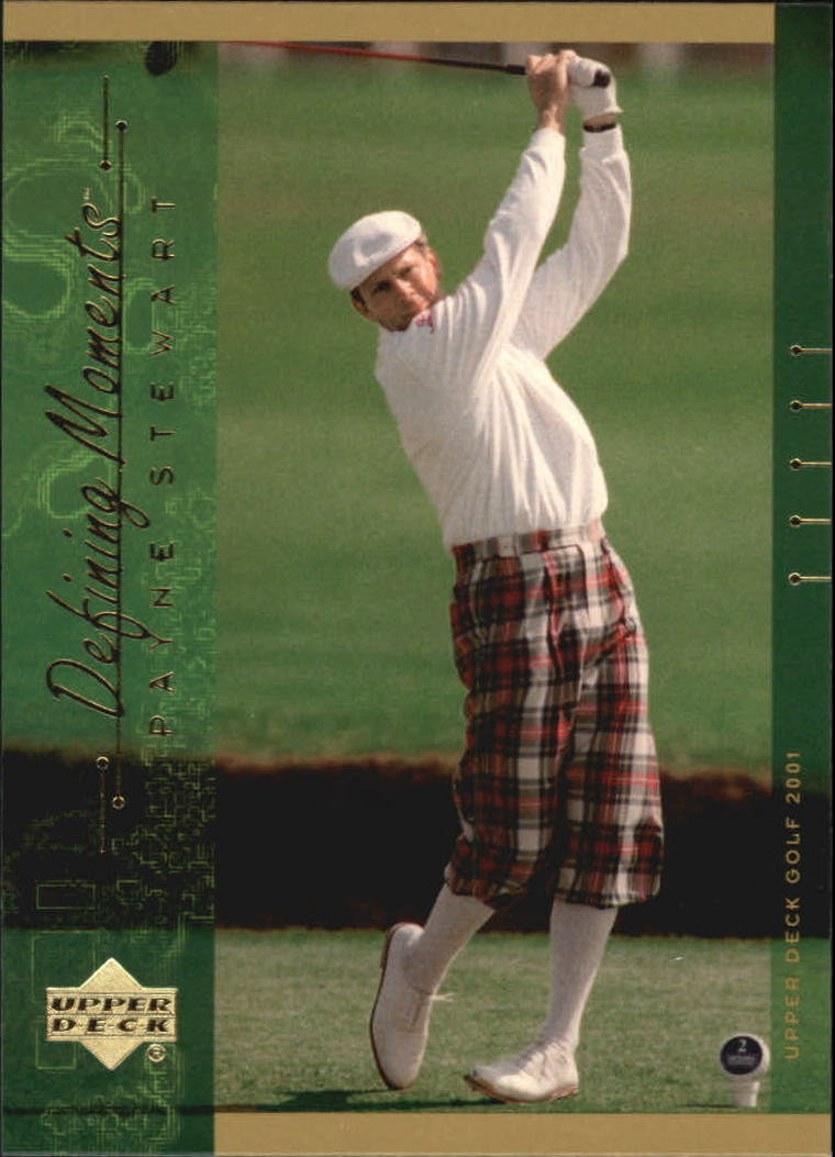 2001 Upper Deck #139 Payne Stewart DM