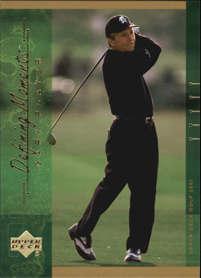2001 Upper Deck #140 Gary Player DM