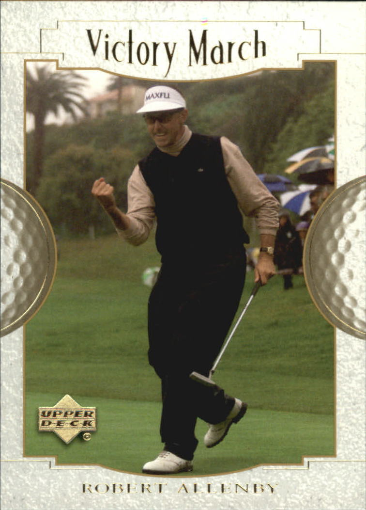 2001 Upper Deck #150 Robert Allenby VM