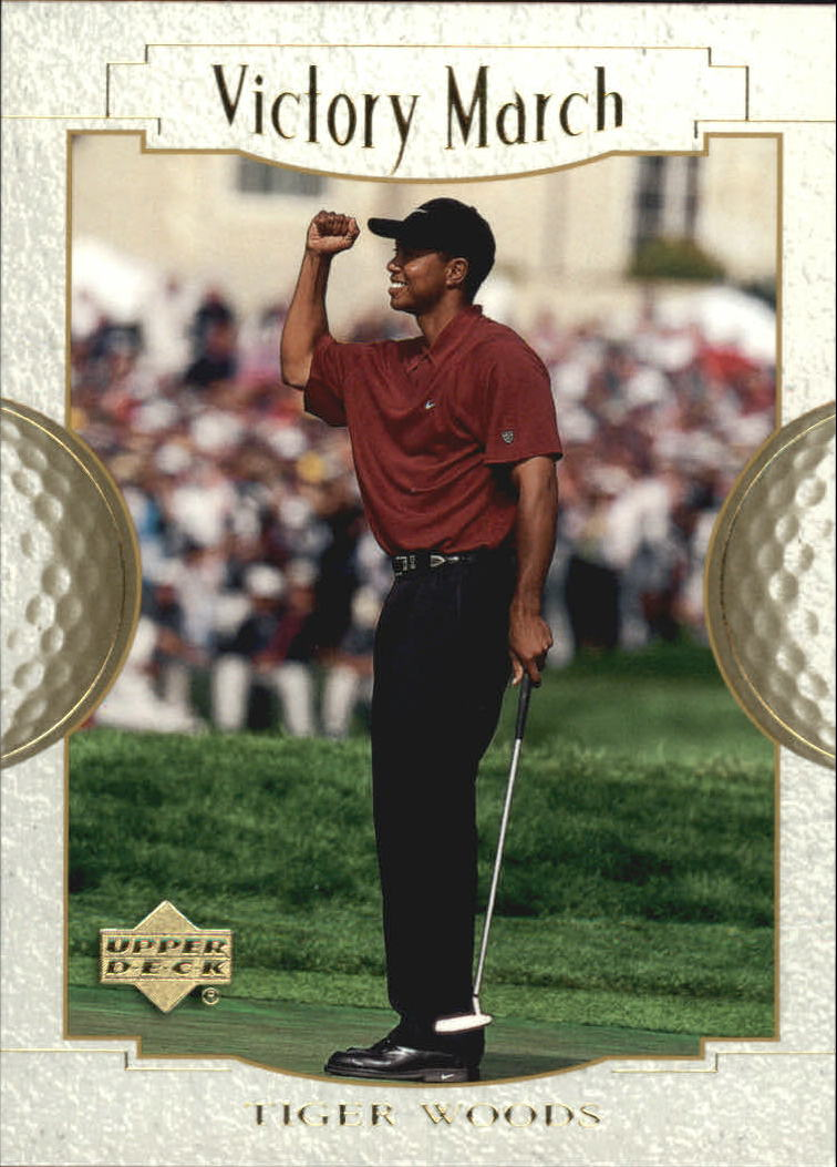 2001 Upper Deck #151 Tiger Woods VM
